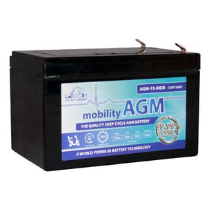 Leoch AGM 15 Mobility Battery 12V 15Ah