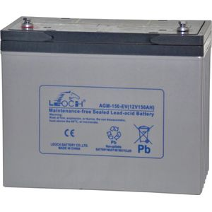 Leoch AGM-150-EV Mobility Battery 12V 150Ah