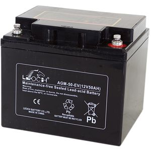 Leoch AGM-50-EV Mobility Battery 12V 50Ah