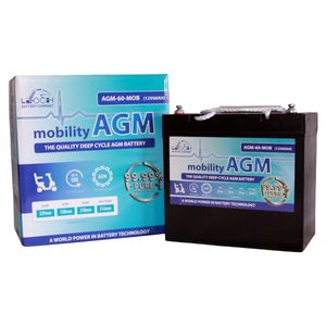 Leoch AGM 60 Mobility Battery 12V 60Ah
