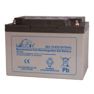 Leoch GEL 70 EV Mobility Battery 12V 70Ah LPCG12-60