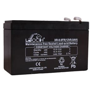 Leoch XR-9.0FR AGM Mobility Battery 12V 9Ah