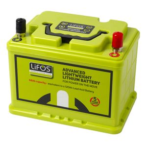 LiFOS 68 V2 Lithium Leisure Battery Advanced Lightweight 68Ah LB0068