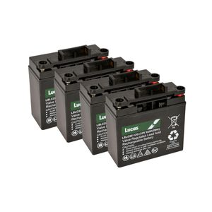 4 x Lucas 22Ah Battery LSLC22-12