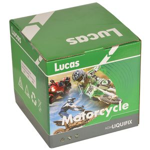LYTX12-BS Lucas Motorbike Battery YTX12-BS
