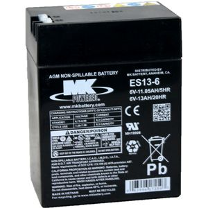 ES13-6 Westco Motorcycle Battery 6V 13 Ah