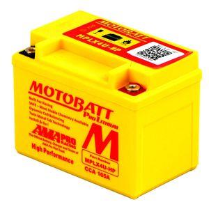 MPLX4U-HP MOTOBATT Lithium Bike Battery