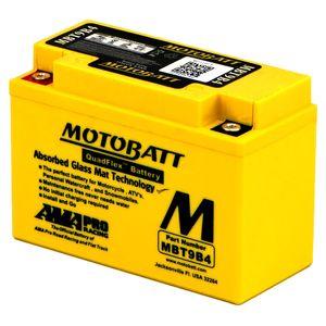 MBT9B4 MOTOBATT Quadflex AGM Bike Battery 12V 9Ah