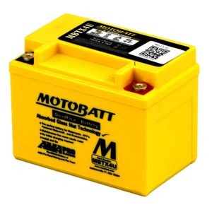 MBTX4U MOTOBATT Quadflex AGM Bike Battery 12V 4Ah