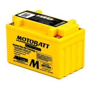 MBTX9U MOTOBATT Quadflex AGM Bike Battery 12V 10Ah