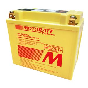 MPLX16U-HP MOTOBATT Lithium Bike Battery