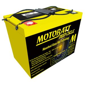MB105-12 MOTOBATT AGM Deep Cycle Leisure Battery 12V 112Ah