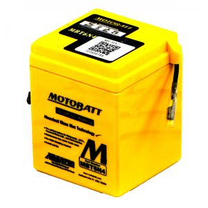MBT6N4 MOTOBATT Quadflex AGM Bike Battery 6V 4Ah