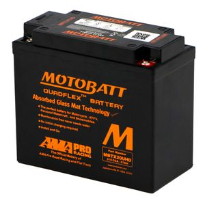 MBTX20UHD MOTOBATT Quadflex AGM Bike Battery 12V 21Ah