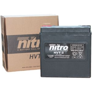HVT-3 Nitro Motorcycle Battery - HVT 03