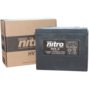 HVT-6 Nitro Motorcycle Battery - HVT 06