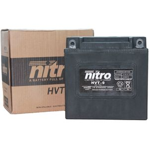 HVT 09 Nitro Motorcycle Battery - HVT 09