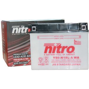 Y50-N18L-A Nitro Motorcycle Battery Y50-N18L-A WA