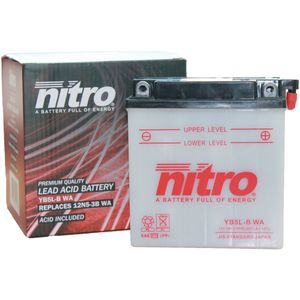 YB5L-B Nitro Motorcycle Battery YB5L-B WA