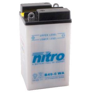 B49-6 Nitro Motorcycle Battery B49-6 WA