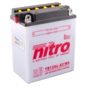 YB12AL-A2 Nitro Motorcycle Battery YB12AL-A2 WA