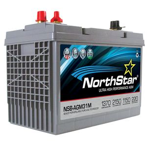 NorthStar NSB-AGM31M Ultra High Performance Marine Battery