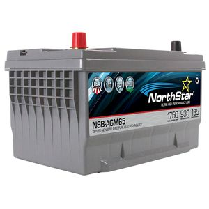 NorthStar NSB-AGM65M Ultra High Performance Marine Battery