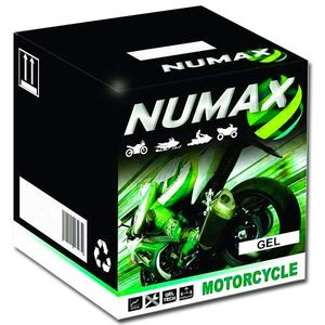 YGZ20HBS Gel Numax Motorcycle Battery 12V 19Ah YGZ20H-BS