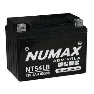 NTS4LB Batterie De Moto Numax YB4L-B