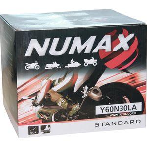 Y60-N30L-A Batterie De Moto Numax
