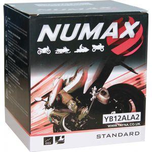 YB12AL-A2 Numax Motorcycle Battery 12V 12Ah YB12ALA2