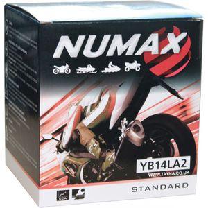 YB14L-A2 Numax Motorbike Battery