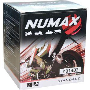 YB14-B2 Batterie De Moto Numax