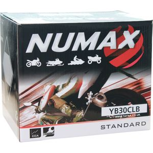 YB30CL-B Numax Battery 12V 30Ah