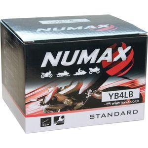 YB4L-B Numax Motorbike Battery