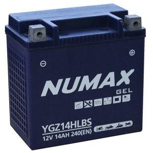 YGZ14HLBS Gel Numax Motorcycle Battery 12V 14Ah YGZ14HL-BS