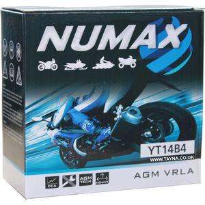 YT14B-4 Numax Motorbike Battery