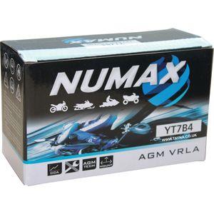 YT7B-4 Numax Motorbike Battery