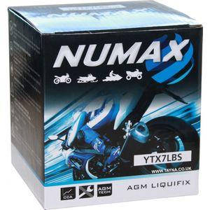 YTX7L-BS Numax Motorbike Battery