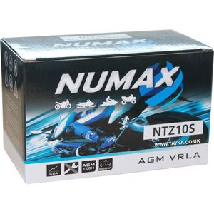 YTZ10S Numax Motorbike Battery NTZ10S