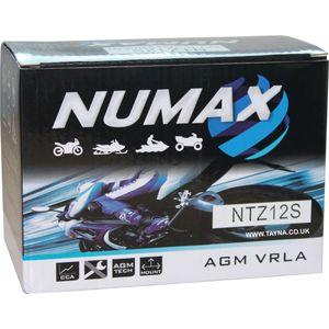 YTZ12S Numax Motorbike Battery NTZ12S