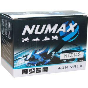 YTZ14S Numax Motorbike Battery