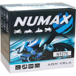 NTZ7S Numax Motorbike Battery YTZ7S