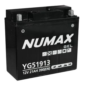YG51913 Gel Numax Motorcycle Battery 12V 21Ah YG51913