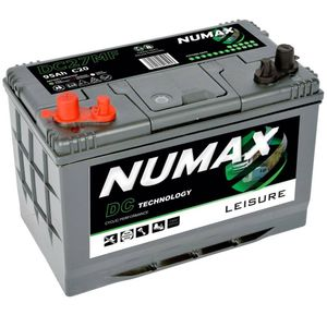 DC27MF Numax Leisure Battery 12V 95Ah