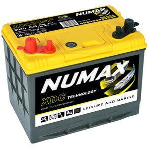 XDC24MF Numax Leisure Battery 12V 80Ah