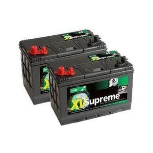 Pair of Lucas LX31MF Leisure Batteries 105Ah