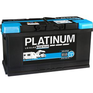 Platinum AGM Plus Leisure Battery 12V 100Ah AGMLB6110L