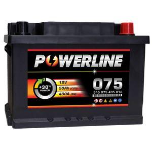 075 Powerline Car Battery 12V