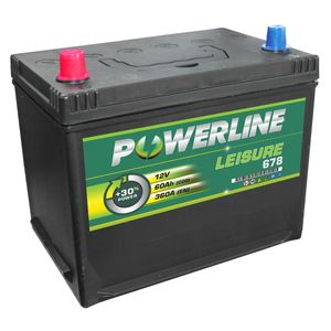 Leisure Battery 678 - Powerline Caravan/Leisure/Marine Battery